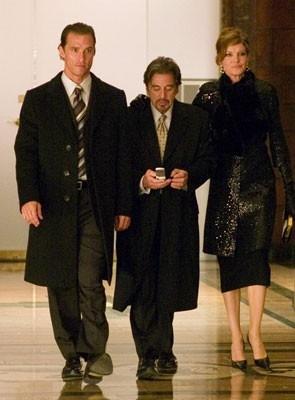 Matthew McConaughey, Al Pacino e Rene Russo in Rischio a due