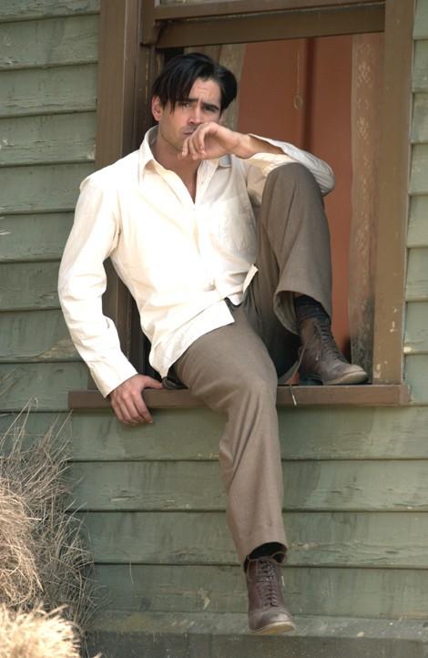 Una bella immagine di Colin Farrell in Chiedi alla polvere