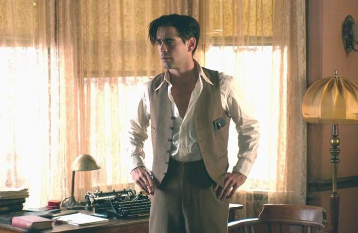 Colin Farrell in una sequenza del dramma Chiedi alla polvere