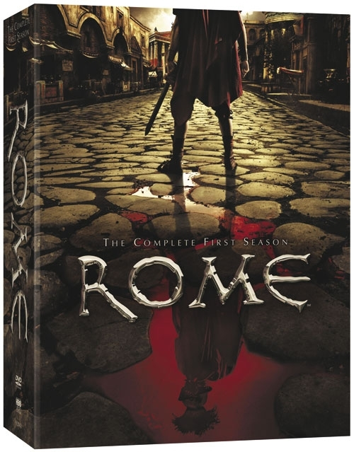 La copertina DVD di Rome: The Complete First Season