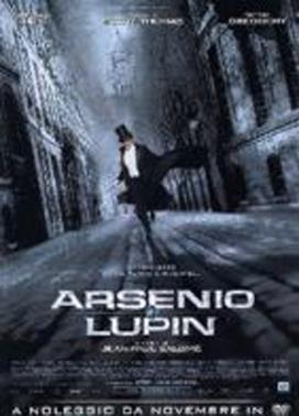 La copertina DVD di Arsenio Lupin