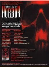 La locandina di Masters of Horror
