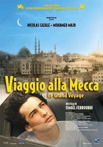 La locandina italiana di Viaggio alla Mecca