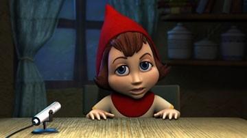 La protagonista di Cappuccetto rosso e gli insoliti sospetti