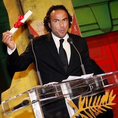 Alejandro González Iñárritu con il premio alla migliore regia