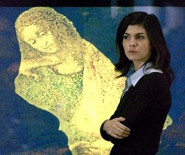 Audrey Tautou in Il Codice Da Vinci