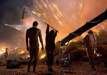 Brandon Routh in una immagine di Superman Returns