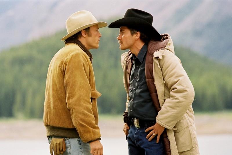 Heath Ledger e Jake Gyllenhaal ne I segreti di Brokeback Mountain