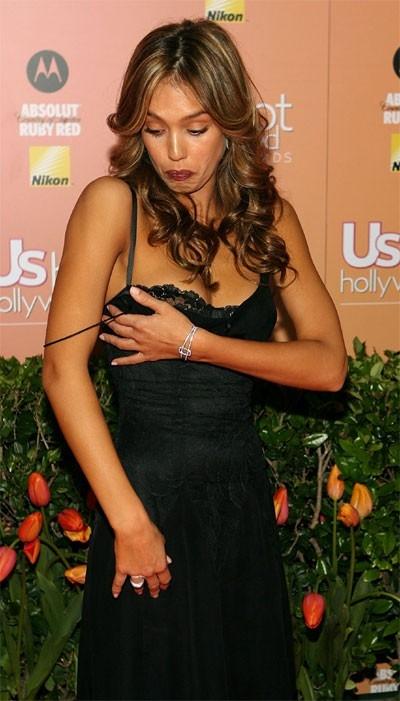 Jessica Alba alle prese con un 'imprevisto'...