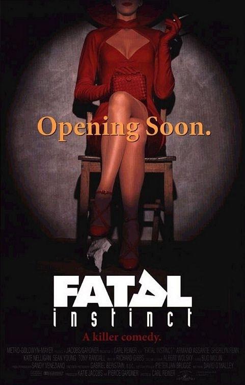 La locandina di Fatal Instinct
