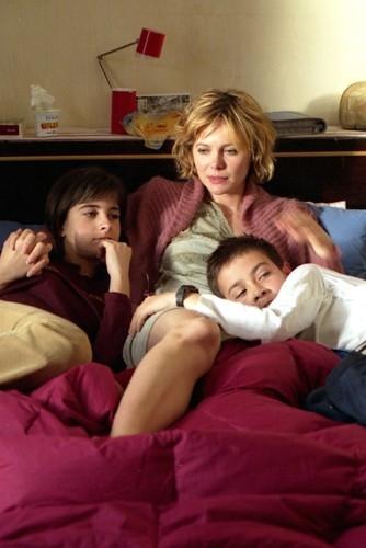 Barbora Bobulova nel film Anche libero va bene