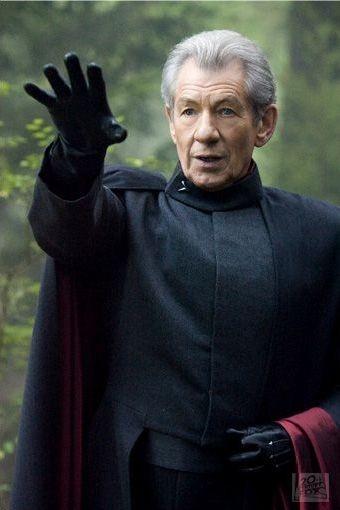 Ian McKellen in una scena di X-Men: Conflitto Finale