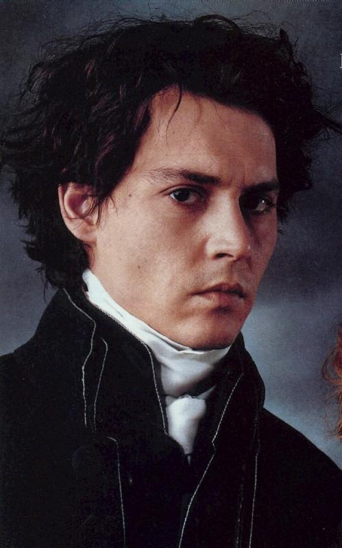 Johnny Depp in una immagine promozionale per Il mistero di Sleepy Hollow