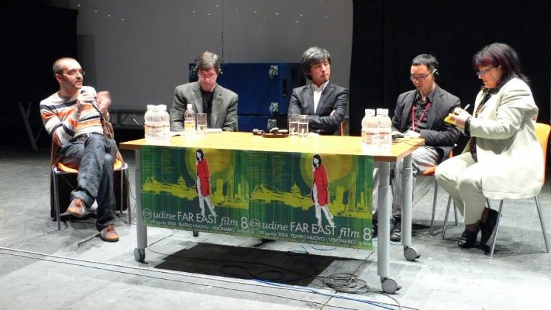 Park Gwang-hyun in conferenza stampa al FEFF 2006