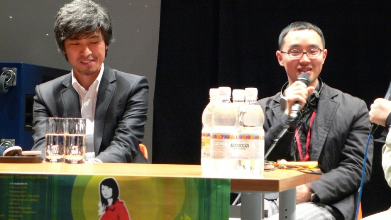 Park Gwang-hyun in conferenza stampa