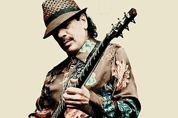 Il musicista Carlos Santana