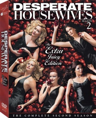 Il cofanetto della seconda stagione di Desperate Huosewives