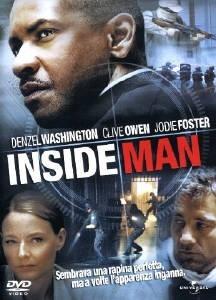 La copertina DVD di Inside Man