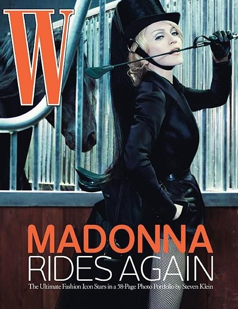 Madonna fotografata da Steven Klein per il numero di giugno 2006 della rivista