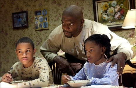 Terry Crews, Tequan Richmond ed Imani Hakim in 'Everybody Hates Chris'