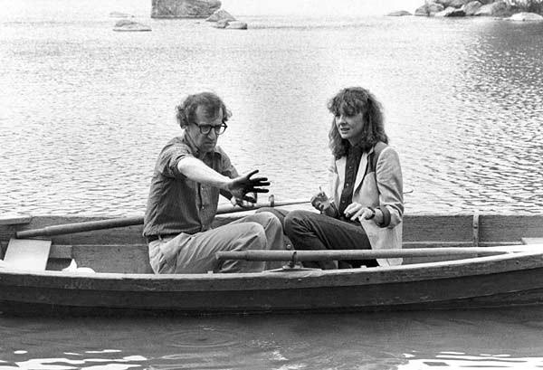Diane Keaton e Woody Allen in Manhattan