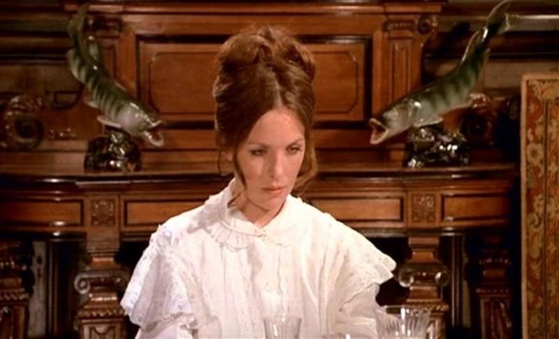 Diane Keaton in una scena di AMORE E GUERRA