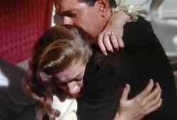 Douglas Sirk e Lauren Bacall in Come le foglie al vento