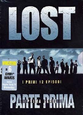 La copertina DVD di Lost - Stagione 1