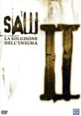 La copertina DVD di Saw 2 - La soluzione dell'enigma