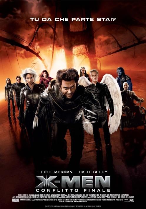 La locandina italiana di X-Men: Conflitto Finale