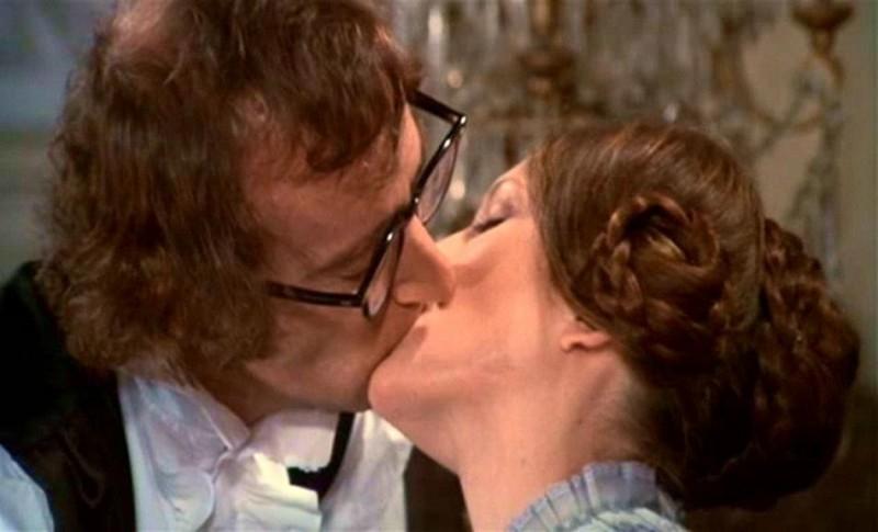 Woody Allen e Diane Keaton in una scena di AMORE E GUERRA