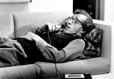 Woody Allen in una sequenza di Manhattan