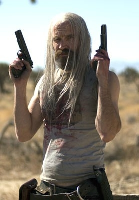 Bill Moseley in una scena del film La casa del diavolo