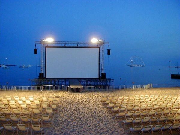 Cannes: il Cinéma de la Plage