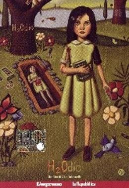 La copertina DVD di Il DVD di H2Odio