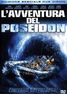 La copertina DVD di L'avventura del Poseidon