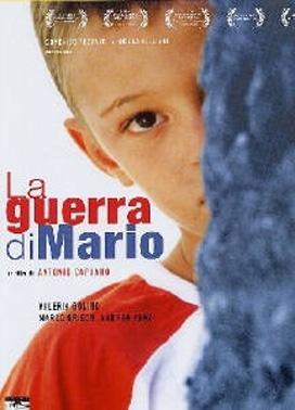 La copertina DVD di La guerra di Mario