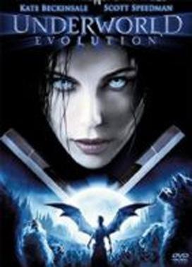 La copertina DVD di Underworld: Evolution
