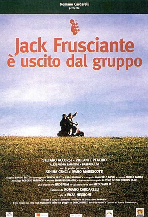La locandina di Jack Frusciante è uscito dal gruppo