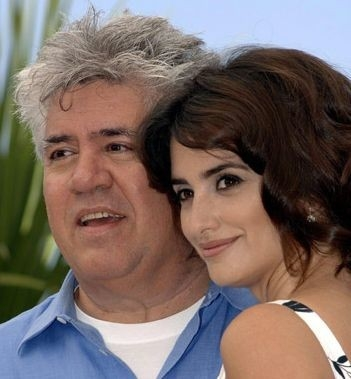 Pedro Almodóvar con Penelope Cruz