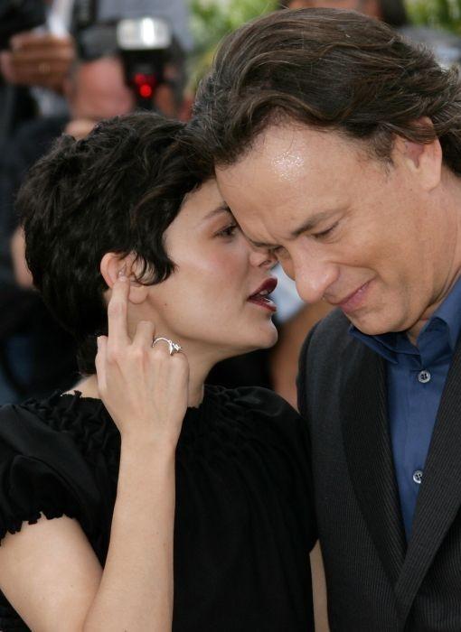 Audrey tautou e Tom Hanks