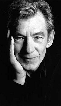 Un ritratto di Ian McKellen