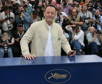 Jean Reno a Cannes  per presentare Il codice Da Vinci