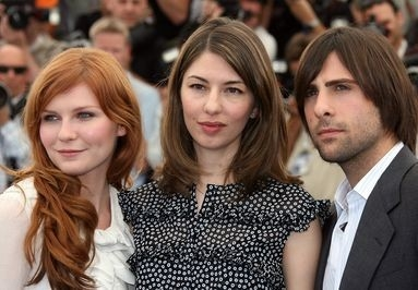 Kirsten Dunst, Sofia Coppola e Jason Schwartzman