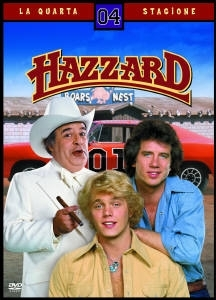 La copertina DVD di Hazzard - Quarta Stagione