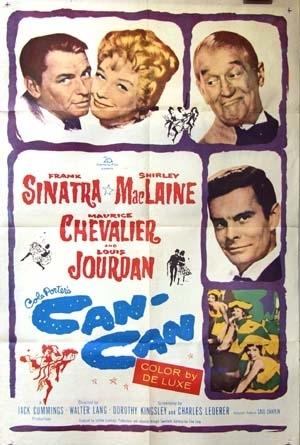 La locandina di Can-Can