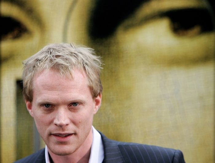 Paul Bettany all'arrivo a Cannes