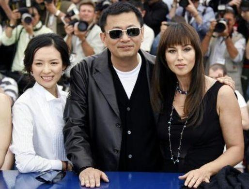 Zhang Ziyi, Wong Kar-wai e Monica Bellucci