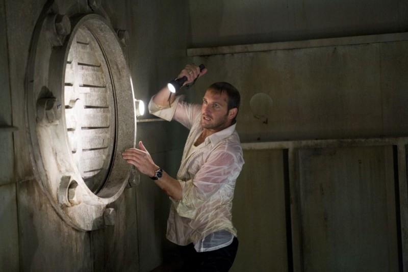 Josh Lucas in una scena di Poseidon