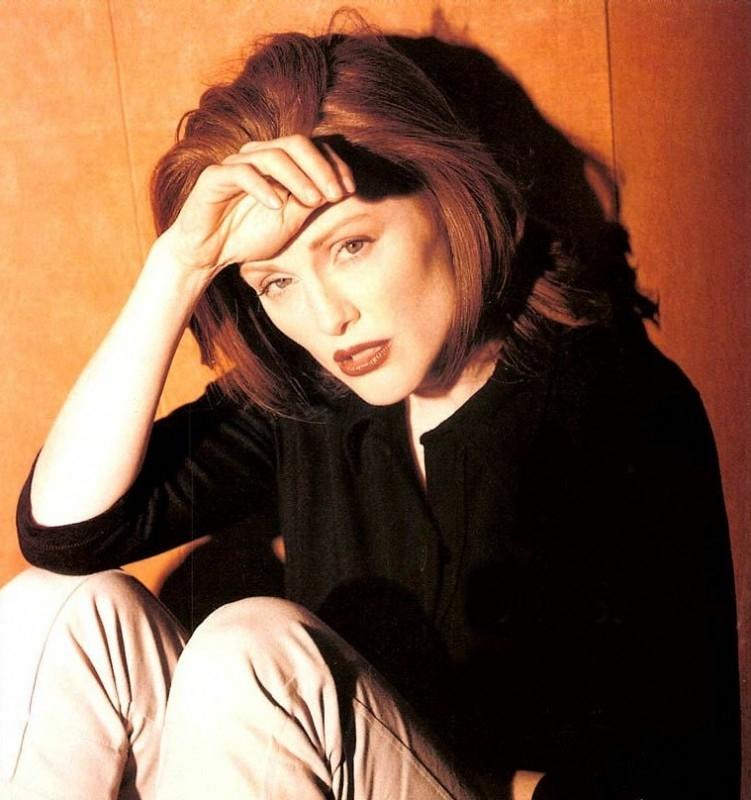 l'attrice Julianne Moore